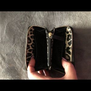 f75d4338c585 kate spade Bags - Leopard print Kate Spade small keychain wallet